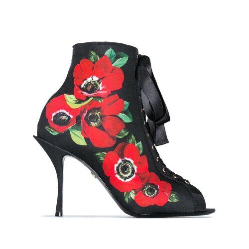 Dolce & Gabbana '90' Jersey-Boots - Schwarz Female regular