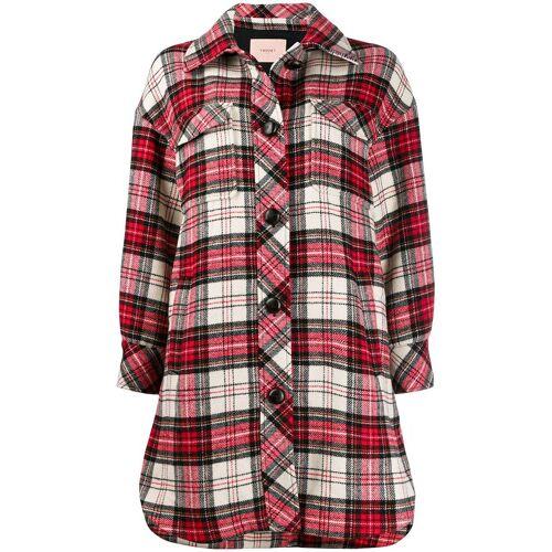 TWINSET Hemd mit Schottenkaro - Rot Male regular