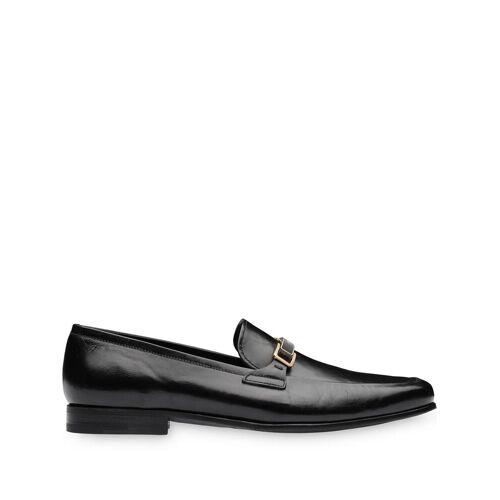 Prada Loafer aus Känguruleder - Schwarz Male regular