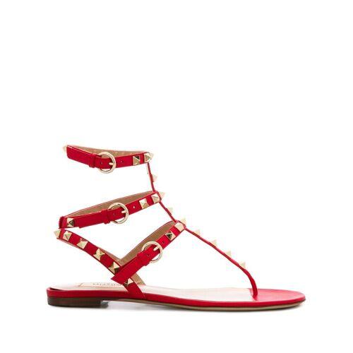 Valentino Garavani 'Rockstud' Sandalen - Rot Male regular