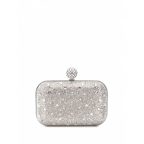Jimmy Choo Clutch mit Kristallen - Silber Male regular