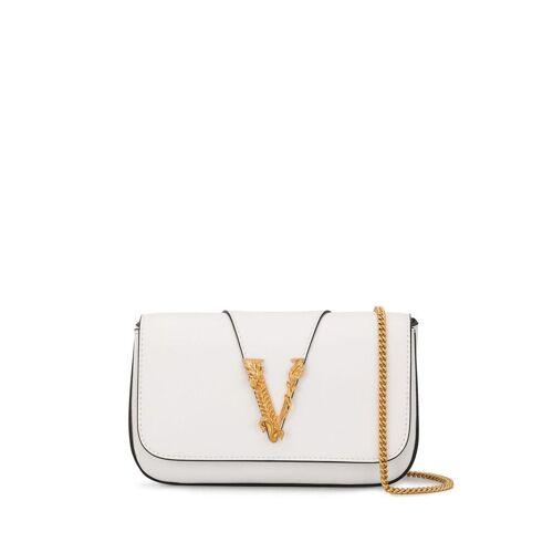 Versace 'Virtus' Umhängetasche - Weiß Male regular