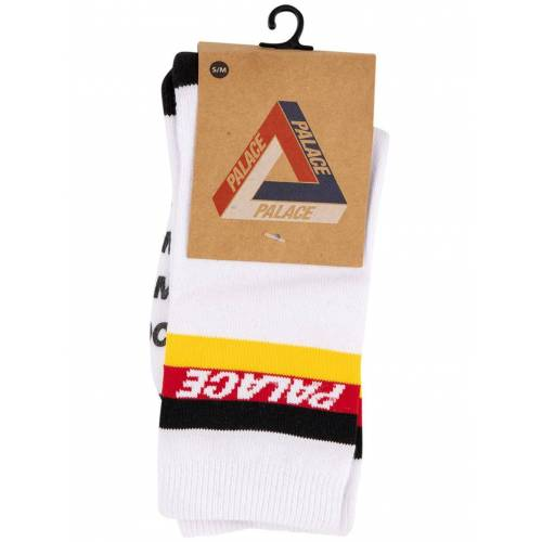 Palace 'ICH' Socken - Weiß Male regular