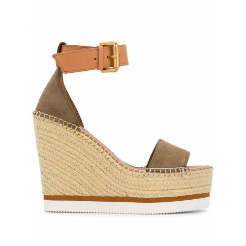 See by Chloé Espadrilles mit Keilabsatz - Nude Female regular