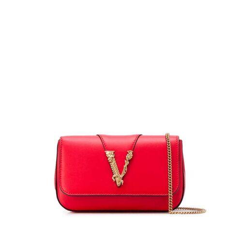 Versace 'Virtus' Umhängetasche - Rot Male regular