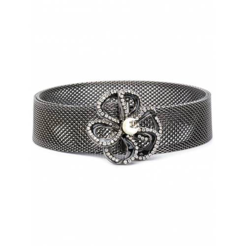 Chanel Pre-Owned 2005 Gürtel mit Kristallen - Silber Male regular