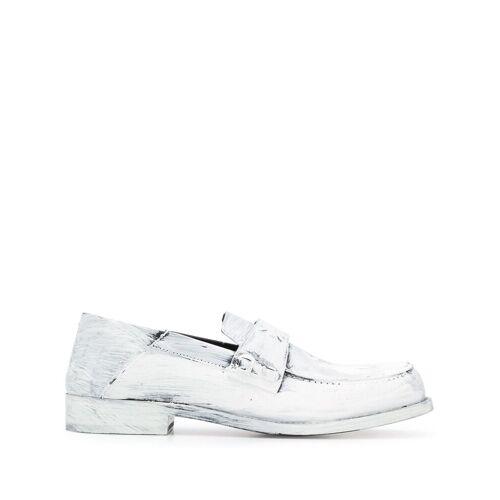 Maison Margiela Loafer mit Farbmuster - Weiß Male regular