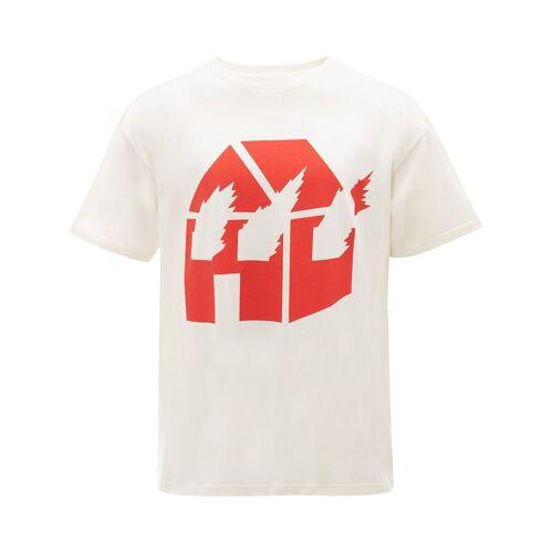 JW Anderson JW Anderson x DW T-Shirt mit Print - Weiß Female regular