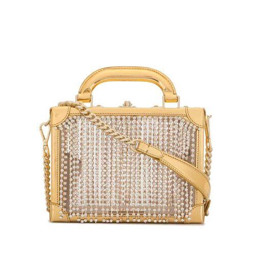 AREA Mini-Tasche mit Kristallen - Gold Female regular