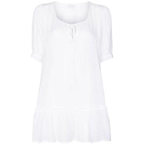 Pour Les Femmes Kurzes Nachthemd - Weiß Unisex regular