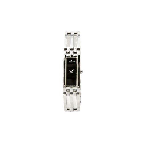 Movado 2005 pre-owned Movado Esperanz Armbanduhr, 15mm - Schwarz Male regular