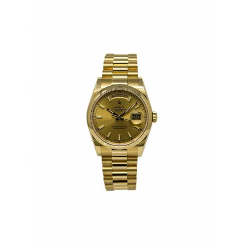 Rolex 2018 pre-owned Day-Date Armbanduhr, 36mm - Gold Male regular