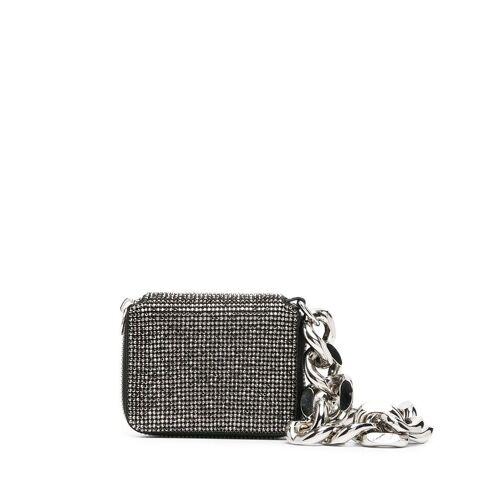 Kara Mini-Tasche mit Kristallen - Silber Male regular