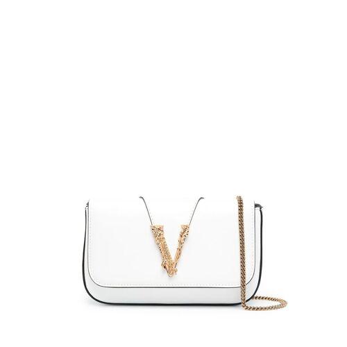 Versace Mini Umhängetasche - Weiß Unisex regular