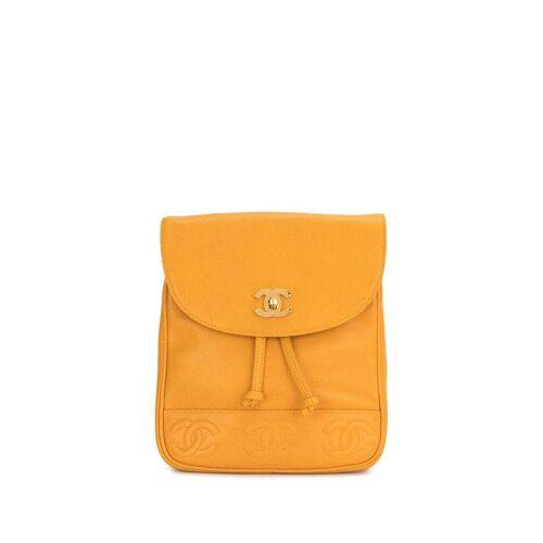 Chanel Pre-Owned 1997 Rucksack mit CCs - Gelb Female regular
