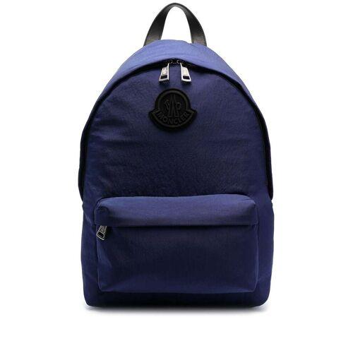 Moncler Rucksack mit Reißverschluss - Blau Male regular