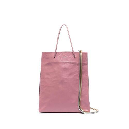 Medea Weicher Shopper - Rosa Male regular
