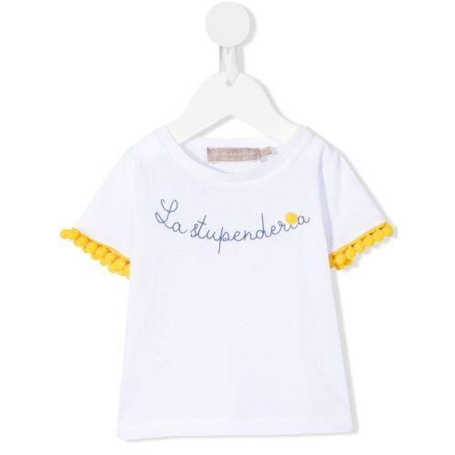 La Stupenderia La Stupenderia T-Shirt - Weiß Unisex regular