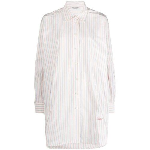 Philosophy Di Lorenzo Serafini Hemd mit Streifen - Weiß Male regular