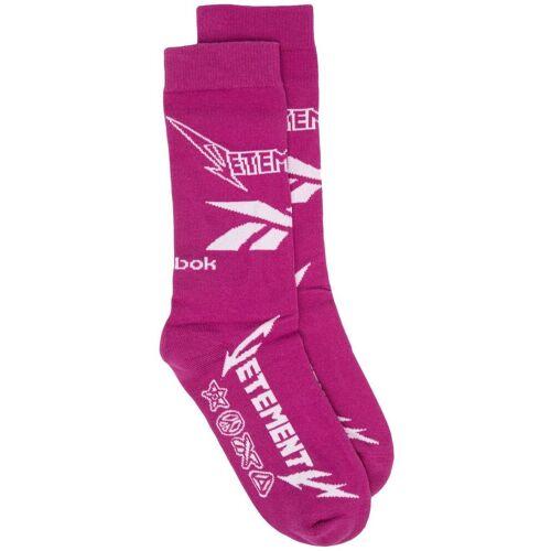 VETEMENTS Gestrickte Socken - Rosa Male regular