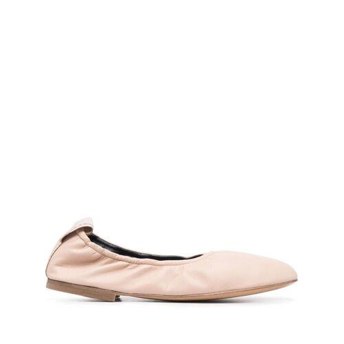 LANVIN Ballerinas mit runder Kappe - Nude Male regular