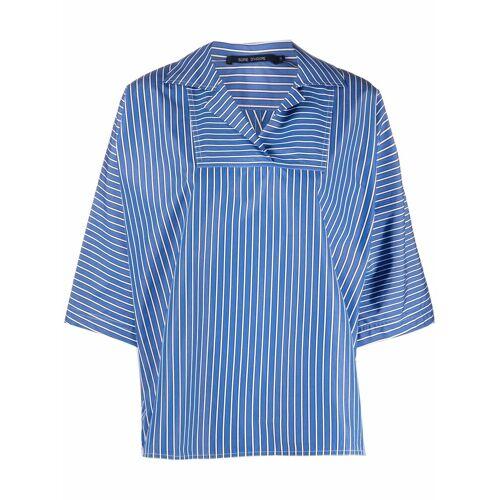 Sofie D'hoore Kastiges Hemd mit Streifen - Blau Female regular