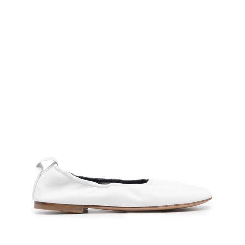 LANVIN Ballerinas aus Leder - Weiß Male regular