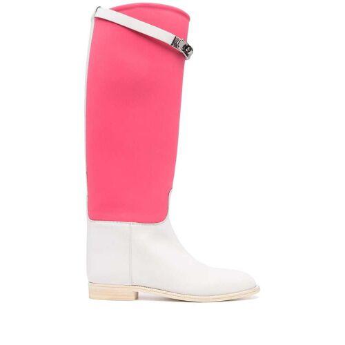 Hermès Kelly Jumping Stiefel - Weiß Male regular