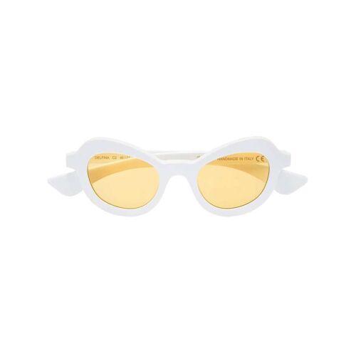 Illesteva 'White Delfina' Sonnenbrille - Weiß Male regular