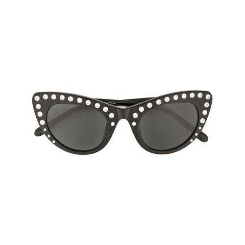 Nº21 Cat-Eye-Sonnenbrille mit Kristallen - C1SUN Male regular