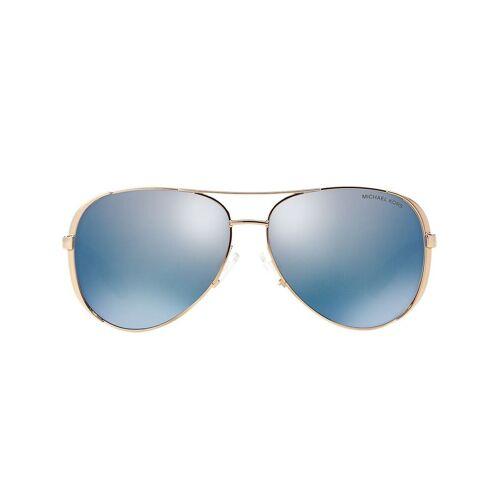 Michael Kors Verspiegelte Pilotenbrille - Gold Female regular