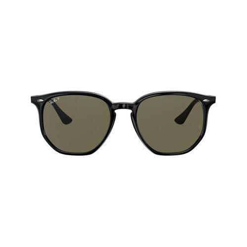Ray-Ban Sechseckige Sonnenbrille - Schwarz Male regular