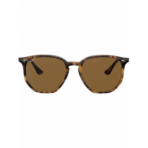 Ray-Ban Sechseckige Sonnenbrille - Braun Unisex regular