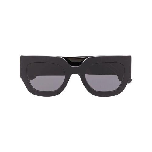 Victoria Beckham Futuristische Sonnenbrille - Schwarz Male regular