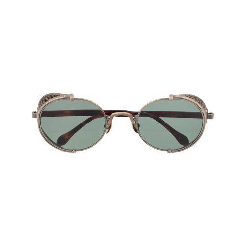 Matsuda Ovale 'Steampunk' Sonnenbrille - Gold Female regular