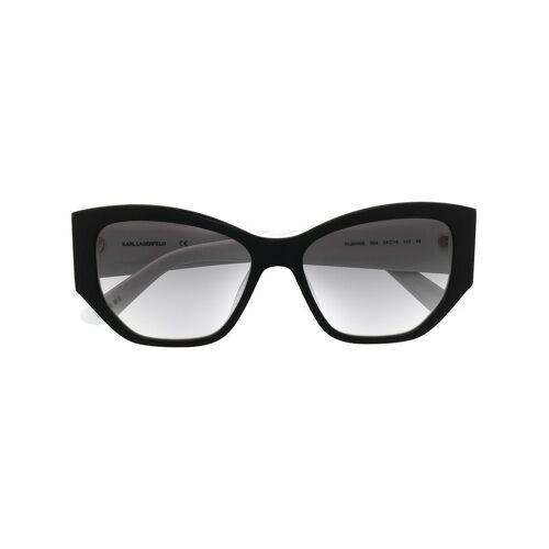 Karl Lagerfeld 'Mr. Lagerfeld Icon' Sonnenbrille - Schwarz Male regular