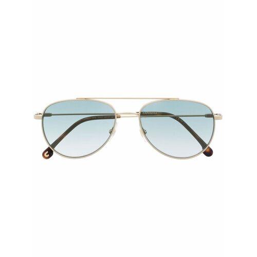 Carrera Getönte Pilotenbrille - Gold Male regular