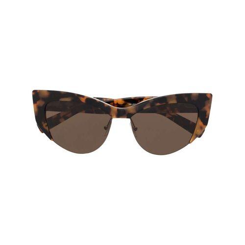 Max Mara Rahmenlose Sonnenbrille - Braun Female regular
