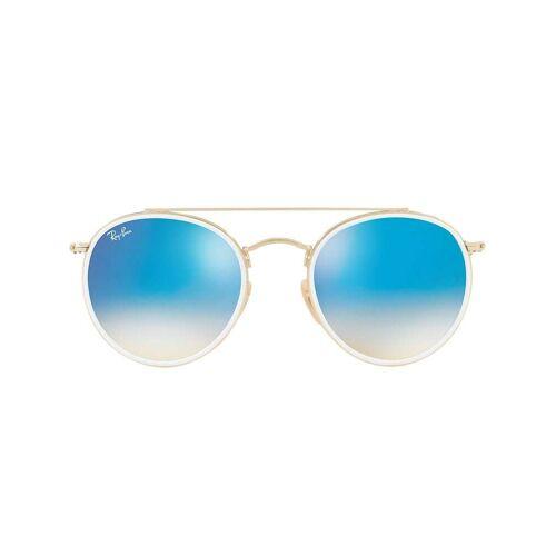 Ray-Ban Runde Sonnenbrille mit Doppelsteg - Gold Unisex regular