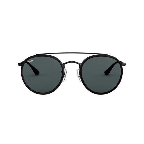 Ray-Ban 'RB3647' Sonnenbrille mit Doppelsteg - Schwarz Unisex regular