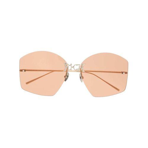 Percy Lau Rahmenlose Sonnenbrille - Gold Female regular