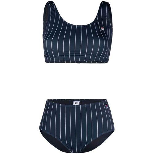 Fila Gestreifter Bikini - Blau Male regular