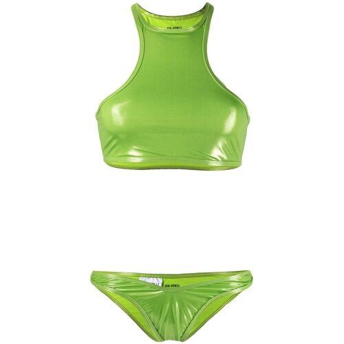 The Attico Bikini mit Racerback - Grün Female regular