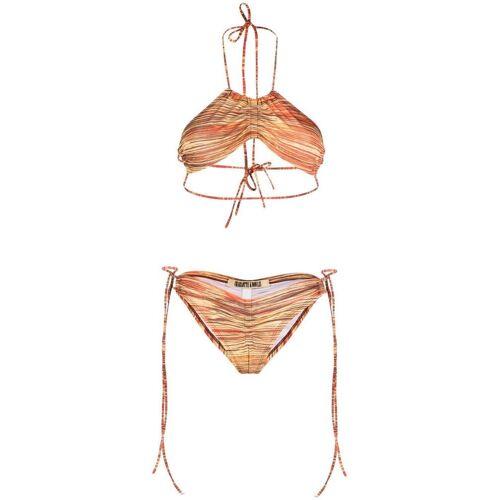 KNWLS Gestreifter Bikini - Rot Male regular