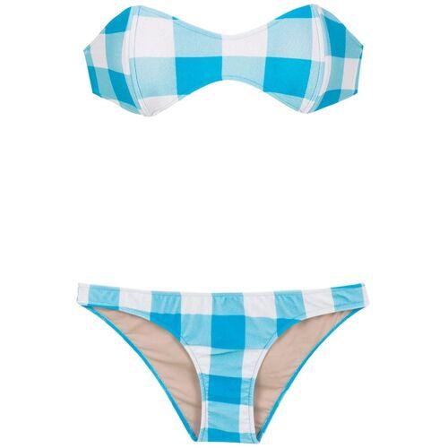 Adriana Degreas Trägerloser Bikini - Blau Female regular