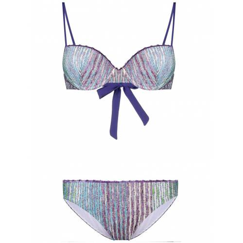 Missoni Metallic-Bikini - Blau Female regular