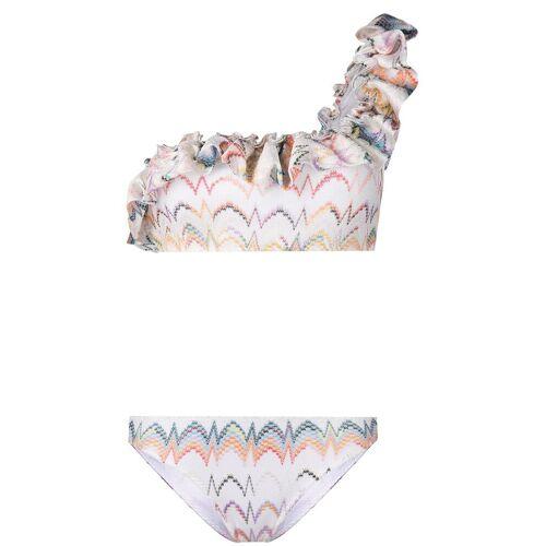 Missoni Bikini mit Rüschen - Weiß Female regular