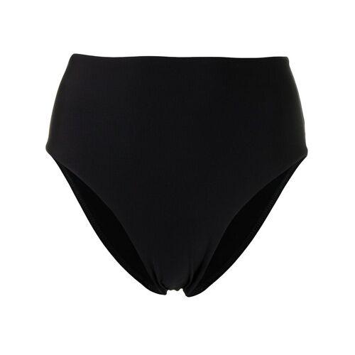 BONDI BORN Hoch sitzendes Paloma Bikinihöschen - Schwarz Unisex regular