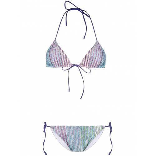 Missoni Triangel-Bikini - Violett Male regular