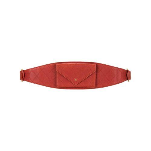 Chanel Pre-Owned Clutch mit Gürtel - Rot Female regular